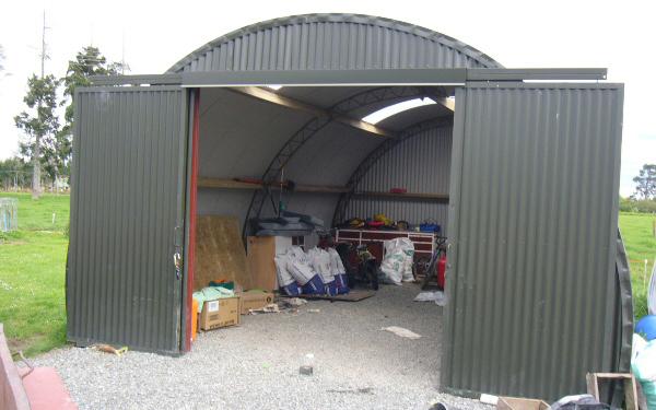 Half Round And Mini Barns O Neill Waikato Nz